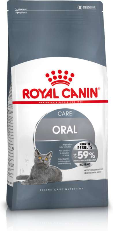 Royal Canin Feline Care Nutrition Oral Care 1.5 kg, 3.5 kg, 400 g, 8 kg