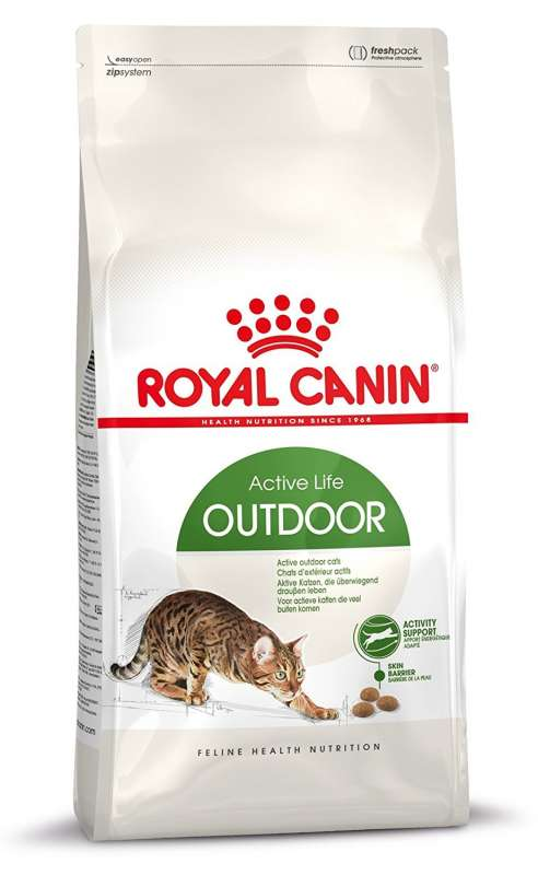 Royal Canin Feline Health Nutrition Active Life Outdoor 10 kg, 2 kg, 4 kg, 400 g kjøp billig med rabatt