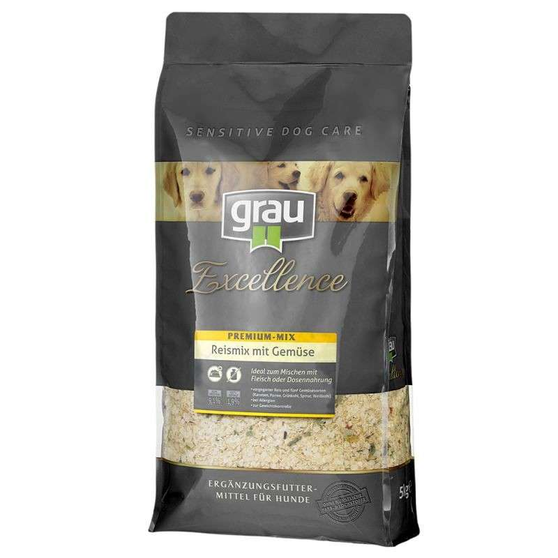 Grau Excellence Premium Rice Mix & Vegetables 5 kg, 10 kg, 1.5 kg con uno sconto