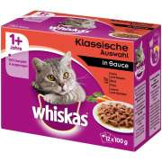 Whiskas 1+ Meaty Selection in Gravy Art.-Nr.: 240