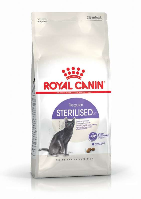 Royal Canin Feline Health Nutrition Sterilised 37 400 g 3182550737555 opiniones