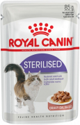 Feline Health Nutrition Sterilised in Gravy 85 g