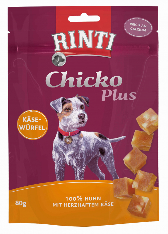 Rinti Rinti Extra Chicko Plus Cheese Cubes 80 g