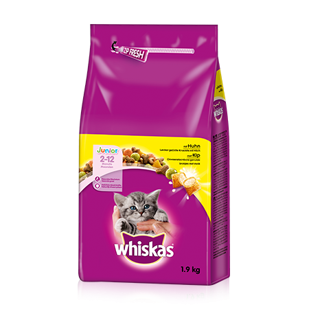 Whiskas Junior Kanaa 800 g, 350 g, 14 kg, 1.9 kg