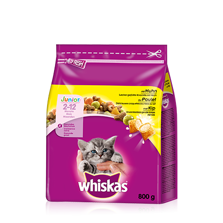Whiskas Junior Kanaa 800 g