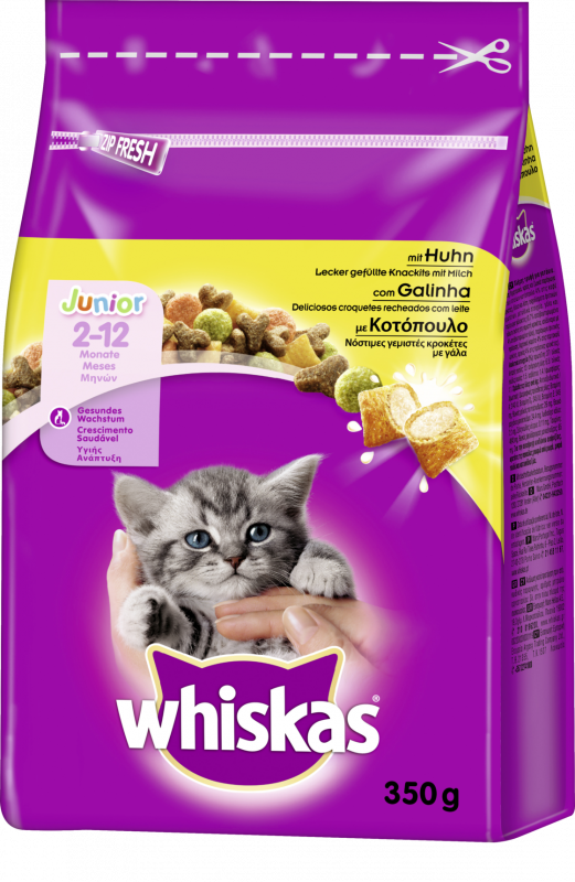 Whiskas Junior Kanaa Paino 1.9 kg