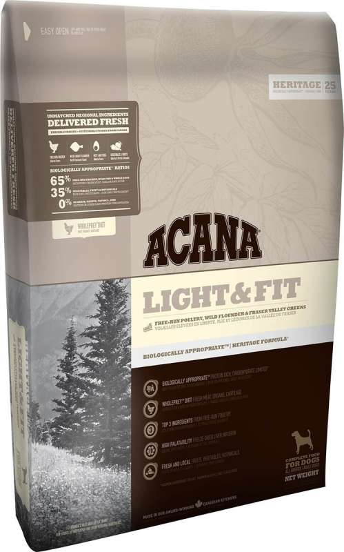 Acana Heritage Light & Fit 11.4 kg