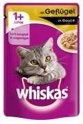 Whiskas 1+ Geflügel in Sauce 100 g Art.-Nr.: 5459