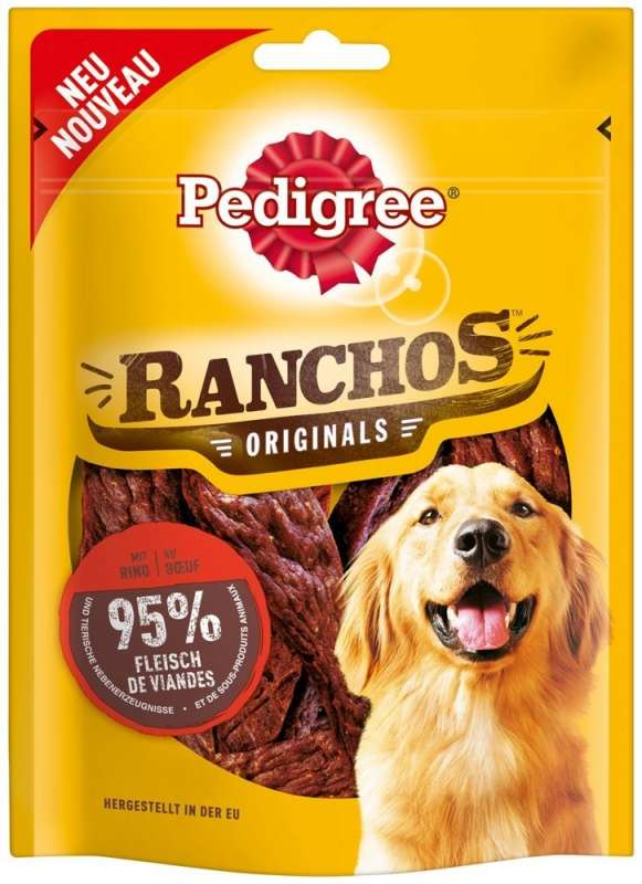 Pedigree Ranchos Originals au Bœuf 70 g