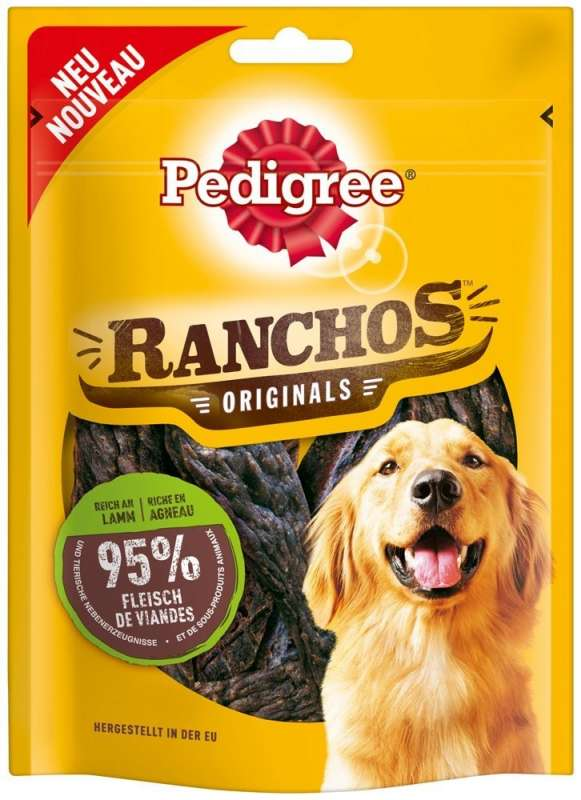 Pedigree Ranchos Originals with Lamb 70 g