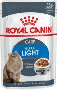 Royal Canin Feline Care Nutrition Ultra Light en Salsa 85 g