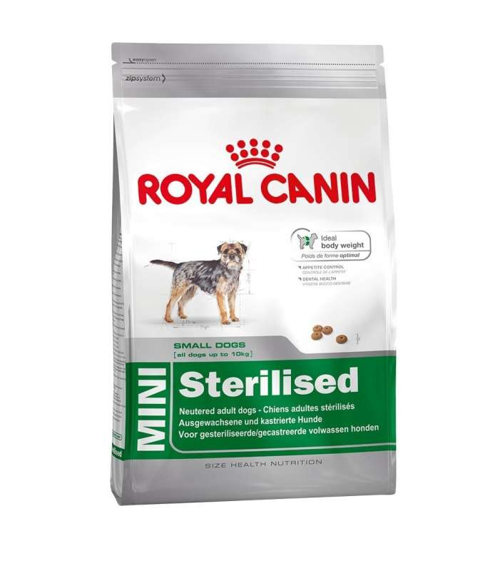 Royal Canin Size Health Nutrition Mini Sterilised 2 kg, 4 kg, 8 kg