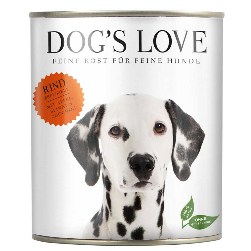 Dog's Love Classic Manzo, senza cereali 400 g