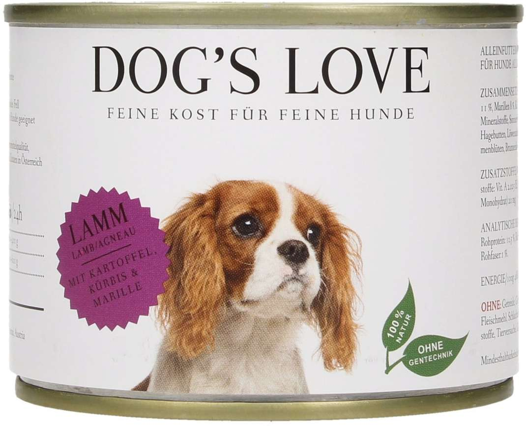 Dog's Love Classic Cordero, sin Cereales 200 g, 400 g, 800 g
