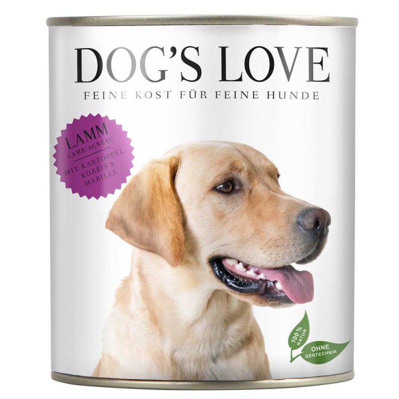 Dog's Love Classic Agnello, senza cereali 200 g, 400 g, 800 g