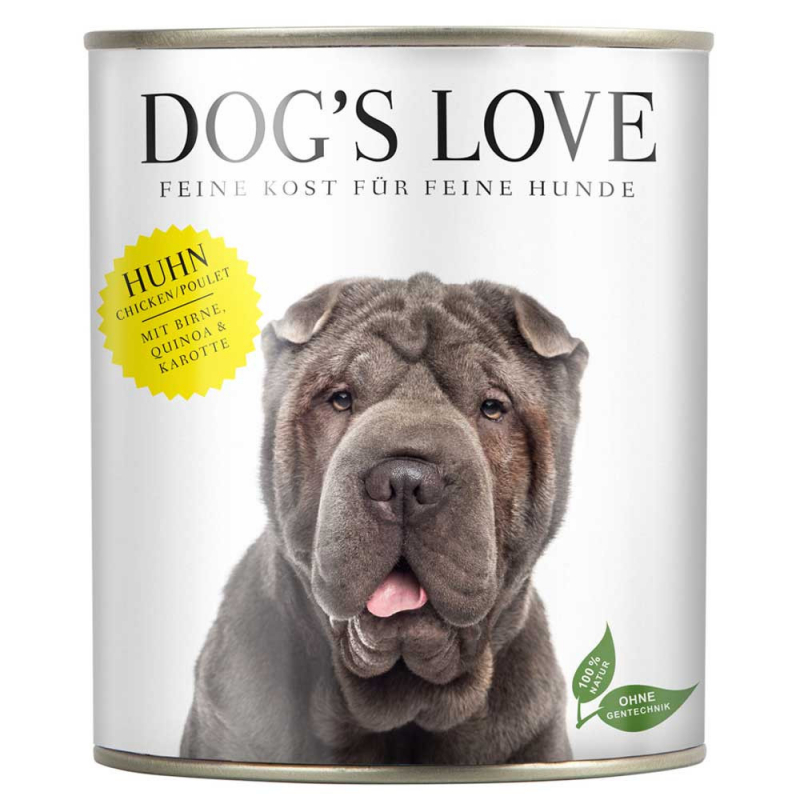 Dog's Love Classic Pollo, senza cereali 800 g