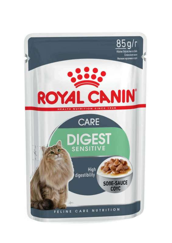 Royal Canin Feline Care Nutrition Digest Sensitive i Saus 85 g kjøp billig med rabatt