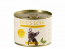 Dog's Love Junior Pollame con Zucchine e Mele 200 g