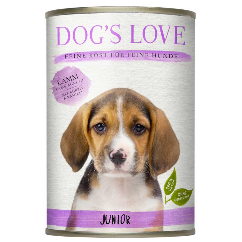 Dog's Love Junior Agneau 400 g, 200 g