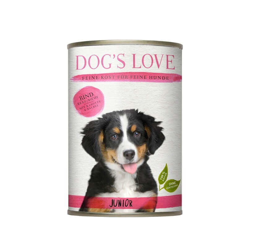 Dog's Love Junior Rind 400 g, 200 g