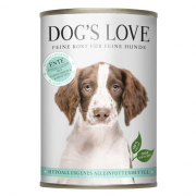 Dog's Love Pato hipoalergênico 400 g