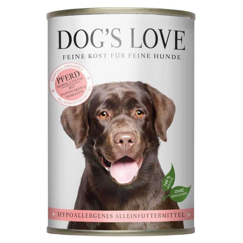 Dog's Love Caballo hipoalergénico 400 g