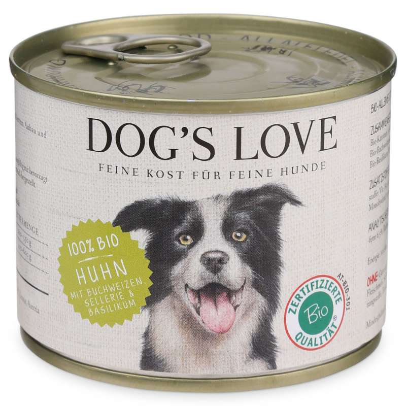 Dog's Love Bio Pollo, senza cereali 200 g