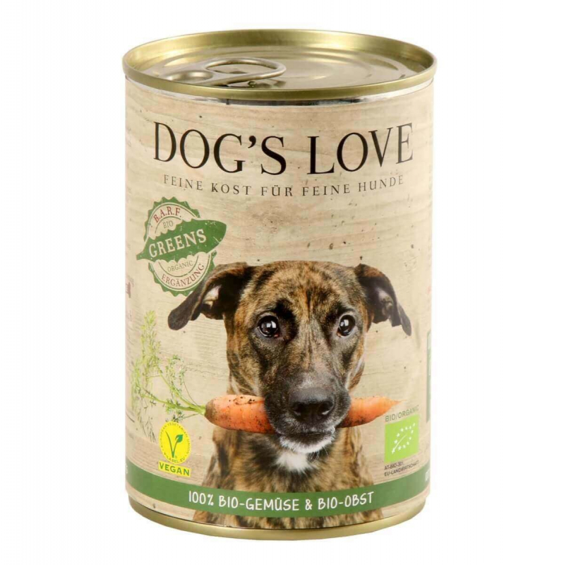 Dog's Love Bio Greens 400 g 9120063680887