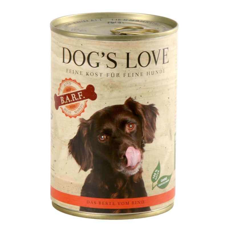 Dog's Love B.A.R.F. Bœuf Pur 400 g