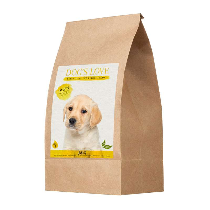 Dog's Love Junior Chicken 9120063681112 erfarenheter