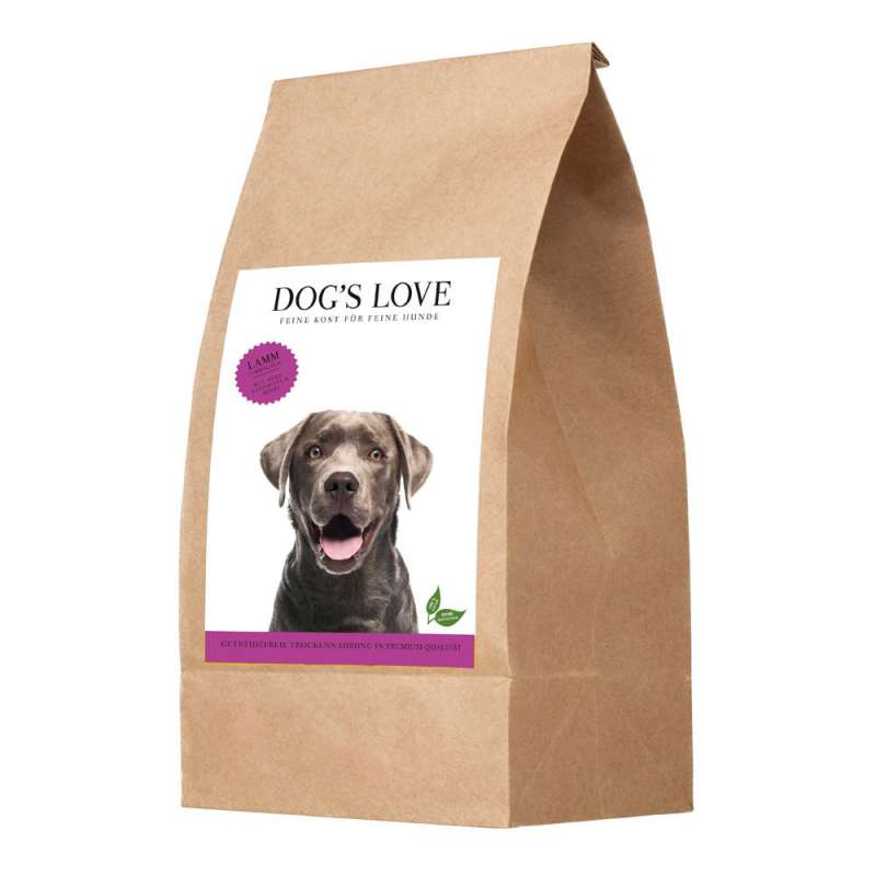Dog's Love Agnello con Patate dolci e Menta 12 kg