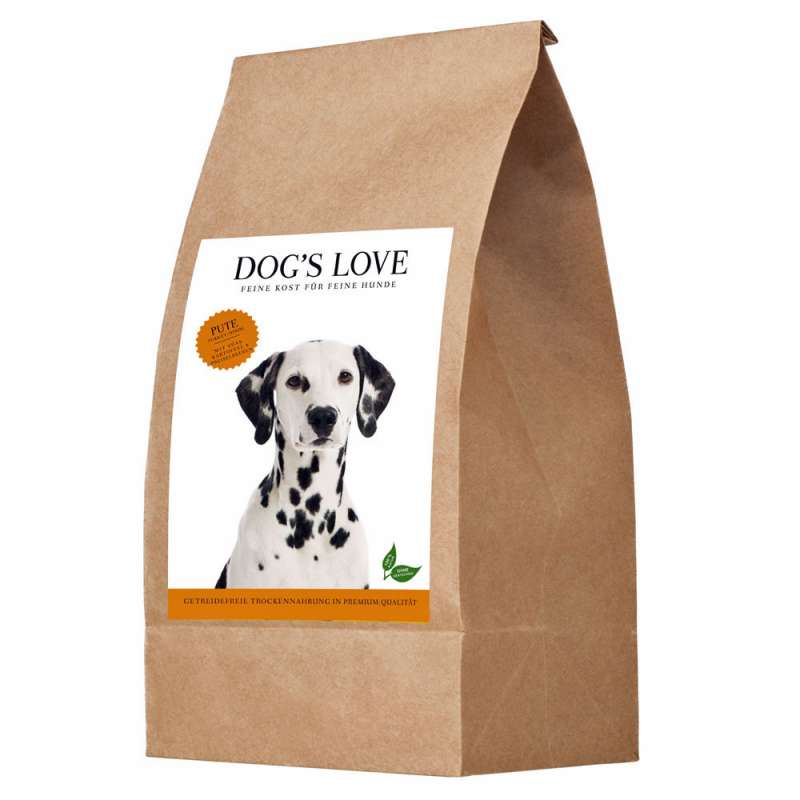 Dog's Love Dinde, Patate Douce et Airelle Rouge 2 kg 9120063680535 avis