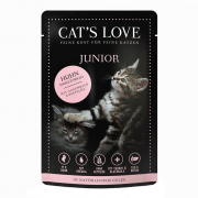 Cat's Love Junior Poulet Pur 85 g