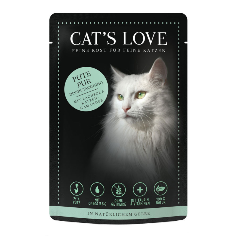 Cat's Love Classic Turkey 85 g