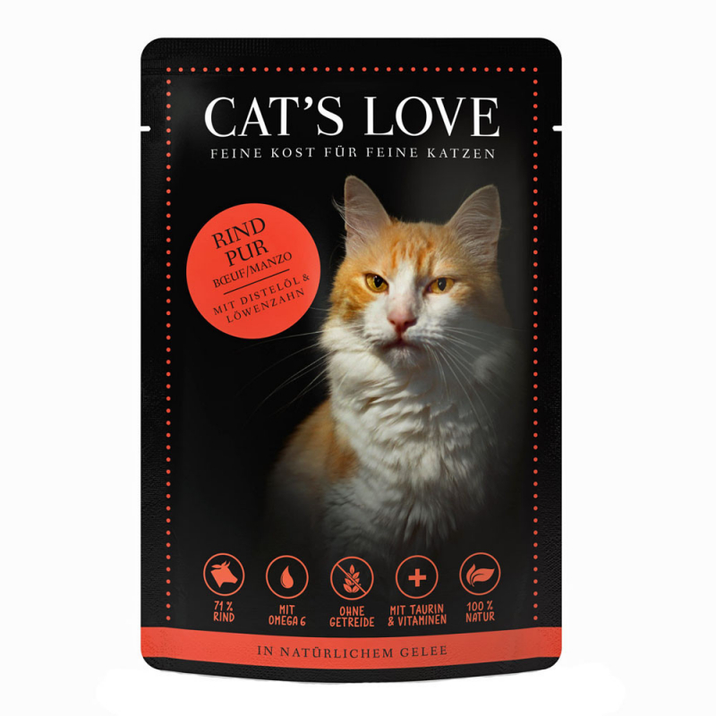 Cat's Love Classic Beef 85 g 9120063680962 ervaringen