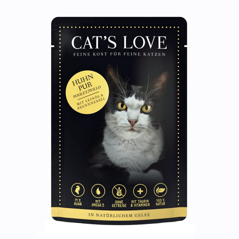 Cat's Love Classic Chicken 85 g