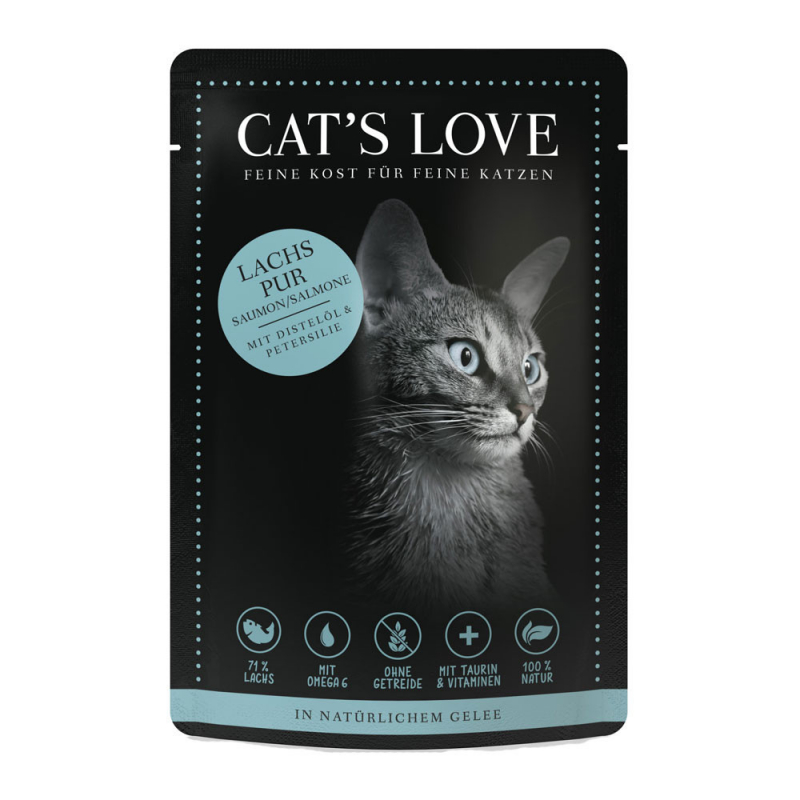 Cat's Love Classic Salmon 85 g