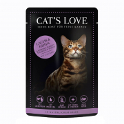 Cat's Love Mix Salmon and Chicken 85 g