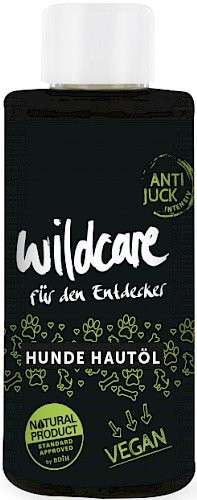 Hunde Hautöl Anti-Juck 75 ml  von Wildcare bei Zoobio.at
