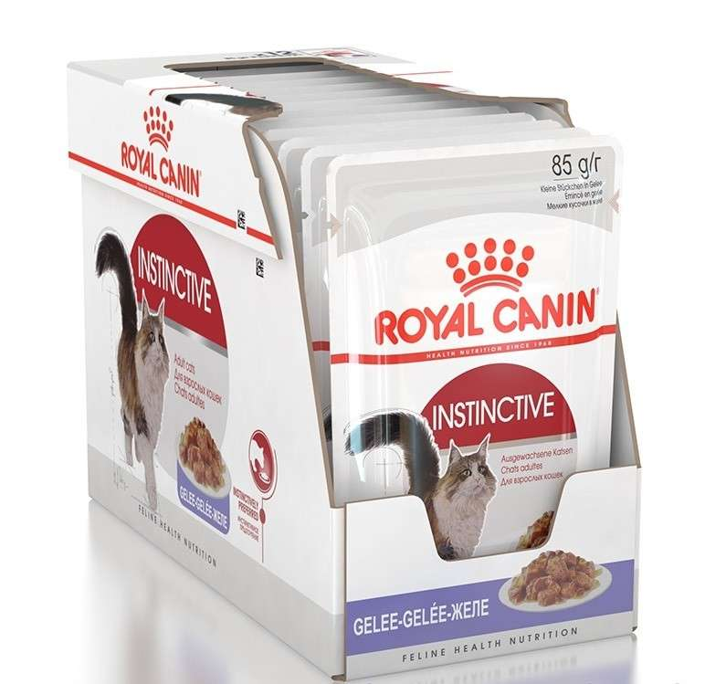 Royal Canin Feline Health Nutrition Multipack Instinctive in Jelly 12x85 g osta edullisesti