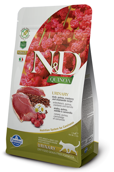 Farmina N&D Quinoa Urinary Adult con Pato 1.5 kg 8010276035783 opiniones