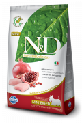N&D Grain-Free Adult Mini Poulet et Grenade 7 kg