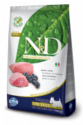 Farmina N&D Grain-Free Adult Mini con Agnello e Mirtillo 800 g