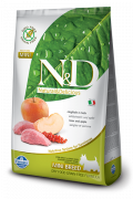 Farmina N&D Grain-Free Adult Mini con Jabalí y Manzana 800 g