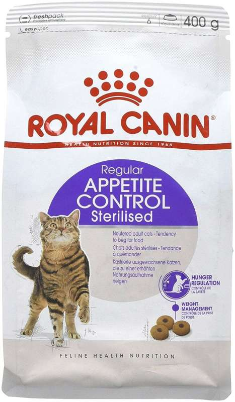 Royal Canin Feline Health Nutrition Appetite Control Sterilised 400 g