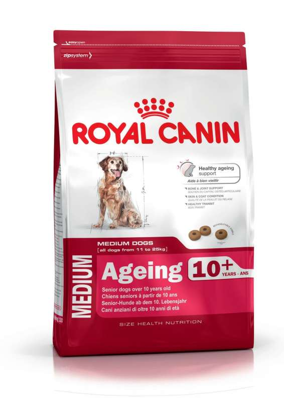 Royal Canin Size Health Nutrition Medium Ageing 10+ 15 kg, 3 kg
