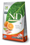 Farmina N&D Grain-Free Adult Medium mit Fisch und Orange 800 g