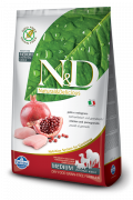 N&D Grain-Free Adult Medium Poulet et Grenade 2.5 kg