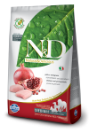 Farmina N&D Grain-Free Chicken & Pomegranate Adult Medium 12 kg