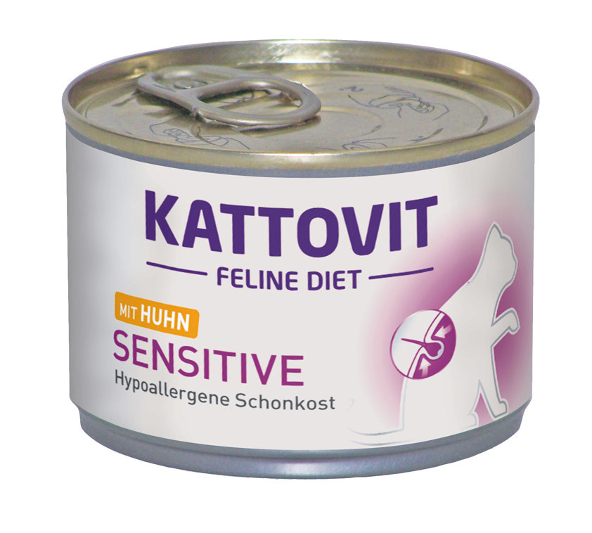 Kattovit Feline Diet Sensitive Pollo 175 g 4000158770448 opiniones